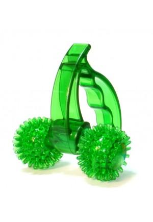 Антицеллюлитный роликовый массажер Лидер 2 колеса